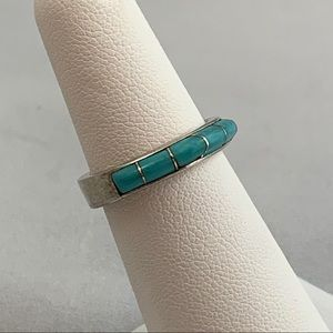 Jewelry - Howlite & Sterling Ring